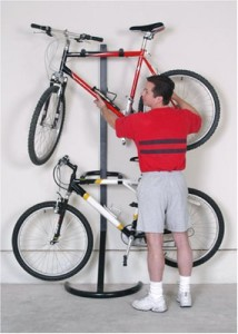 PLB-2R Two-Bike Gravity Freestanding Bike Stand
