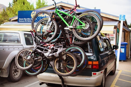 Overloaded Bike Rack